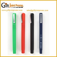 Promotional Square Plastic Ballpoint Pen, Square Ballpoint Pen with Customized LOGO