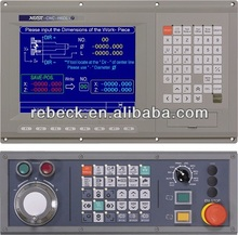 3, 4, 5, 8 + 1 axis Lathe, Mill and working center CNC controller