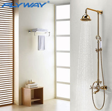 china supplier 2014 luxury bathroom shower set rain shower