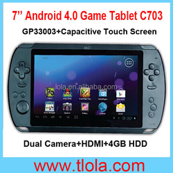 7'' HDMI Android Video Games with WIFI Dual Camera