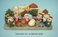 polyresin nativity set crafts