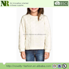 Long-sleeved Top in Sweatershirt with a textured Pattern,Knit Sweater Patterns for girls