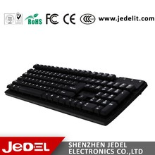 Hot Sale Good Price Ergonomic Design Waterproof Gaming Keyboard From Jedel