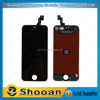 cherry mobile phone parts factory directly supply for iphone 5s lcd touch