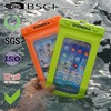 pvc waterproof pouch with earphone for smartphone