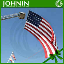 flying on the sky sublimation printing decoration outdoor american flag custom