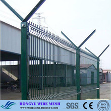 outdoor metal fence/fence panels wood/electric fence burglar