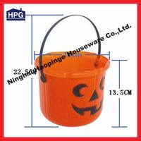 China promotional gift 2014 lighted halloween bucket wholesaler