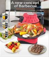 2015 height adjustable charcoal bbq grill no smoke