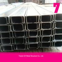 Steel structural columns,h-section steel column,galvanized steel column