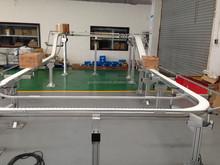 Flexbile Modular Belt Conveyor Machine