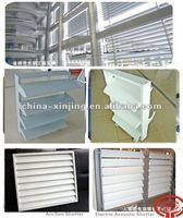Modern exterior aluminum louver windows/adjustable louver(CE)