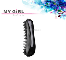 2015 My girl Alibaba experess easy wash unbreakable comb best popular in USA,tangle brush/hair teezer
