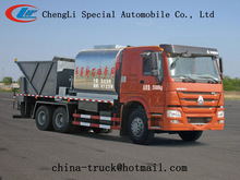 road construction equipment synchronous chip sealer