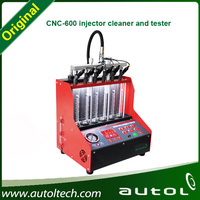 Fuel Injector Cleaner&Analyze,Fuel Injector Diagnostic and Cleaning Machine CNC-600 Injector Cleaner and Tester