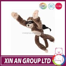 MW062 monkey screaming flying slingshot plush toys