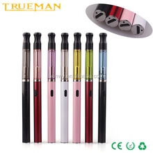 slim haha electronic cigarette micro usb passthrough battery ego/510 thread liquid 510 tank clearomizer vaporizer pen