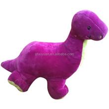 Promotionnel cadeaux de dinosaures / peluche dinosaure cadeau / en peluche violet dinosaure jouet