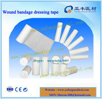 100% cotton filled absorbent gauze bandage