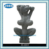 Indoor Natural Antique Abstract Nude Woman Statue Design