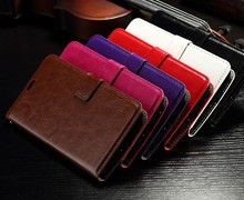 Promotional Price Book Style PU Leather Flip Case For Asus Zenfone 2 Case