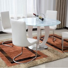 2015 hot sales modern round dining table