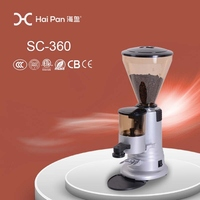 High quality factory price electric coffee grinder burr mill