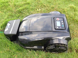full-automatic memory mini lawn mower for sale with 14 languages option