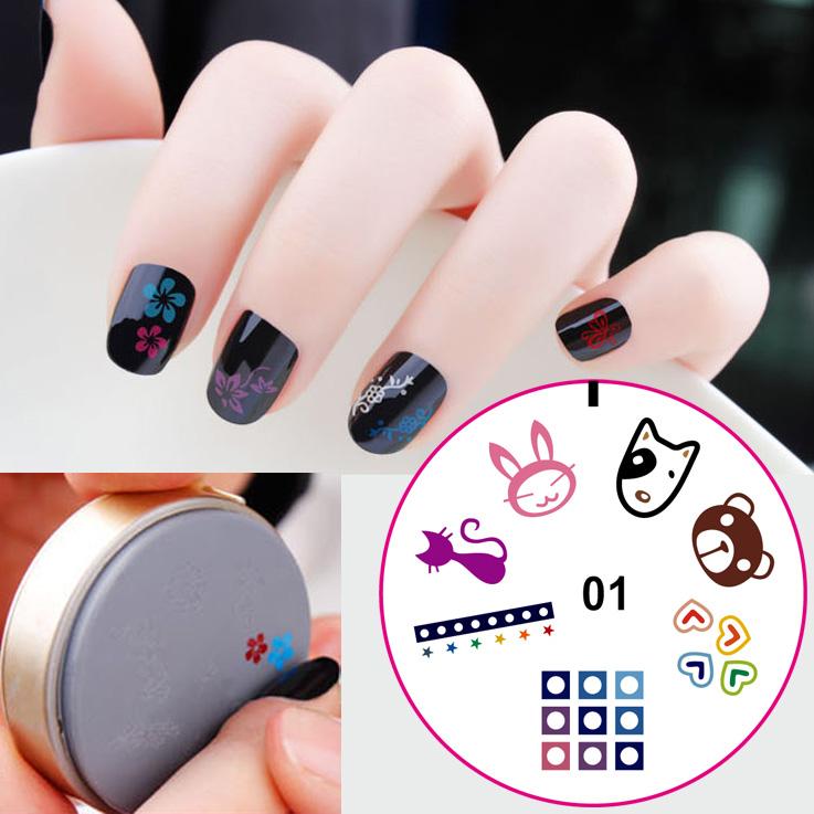 Multi Style Silicone Nail Stampnail Scraper Kit Buy Nail Scraper