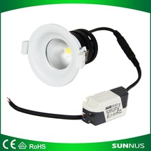 5w led cob downlights Aluminum Material and Energy Saving 100-240v IP44