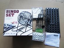 75 balls popular Bingo drinking game set