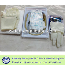 Disposable Sterile Medical Urine Catheterization Kit with CE ISO Certification