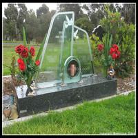 Angel dolphin headstone