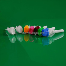 Round stand up screw cap for tube