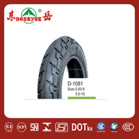 2015 hot sale scooter motorcycle tyre 3.00-8 6pr