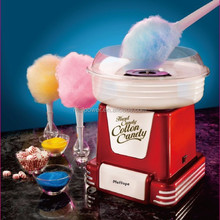 sugar-free cotton candy maker/cotton candy making machine for home use,450W,red and white