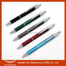 Matte Finish Aluminum Pen with Texture Grip (VBP130A)