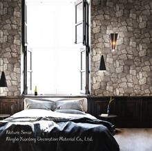 53CM Nature Sense vinyl 3d natural stone home wallpaper for home decoration