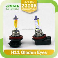 H11 12V 55W PY20D 2300K Golden Eyes Automotive Super Yellow headlight type