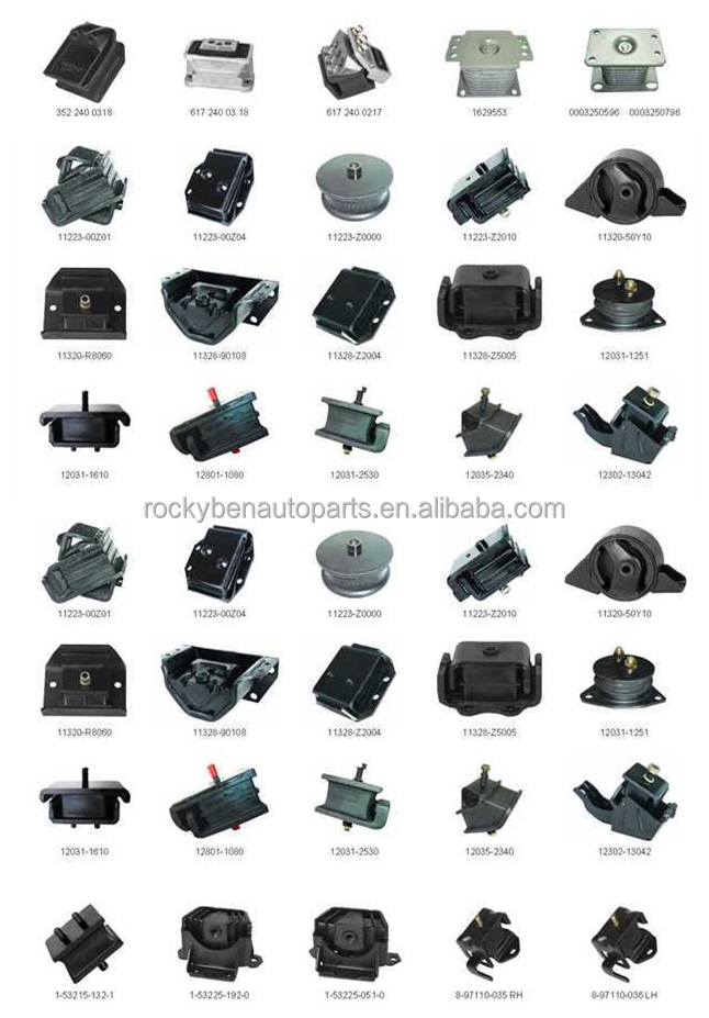 Cars Auto Parts Engine Parts For Toyota Engine Mounts 12371-22140 ...