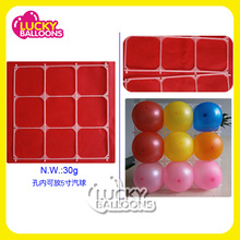 balloon grid for decoration tool