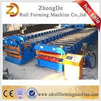 Salable Automatic Machine for Making Roof And Wall, Color Steel Roof And Wall Sheet Double Deck Roll Forming Machine