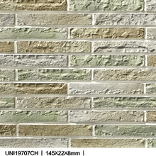 good quality with factory direct price decorative bricks ceramic Ancient Qin Wall Tiles for Japan & Vietnam market