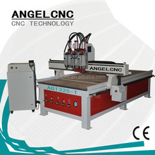 One time finish Milling Engraving Cutting no need operator 1325 ATC -3 axis atc cnc router