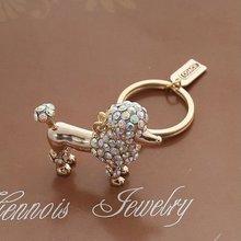 (0609318) 2011 new fashion popular crystal key chain