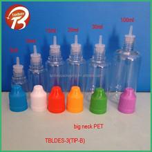 5ml 10ml 15ml 20ml 30ml 50ml PET e liquid E cigarette plastic bottle with tips&childproof cap plastic dropper bottle for liquid