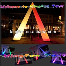 Outdoor/indoor Lighted inflatable arch/archway for festival/show/advertising