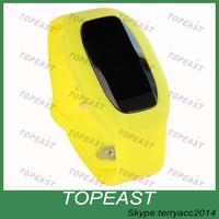 Top Selling 2015 hot TOUCH SCREEN fitness tracker, sleep monitor Vibration Alarm Clock bluetooth CE pedometer smart bracelet