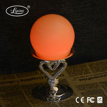 Mini ball shape flameless LED wax candle with remote control