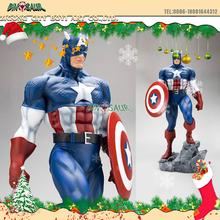 Christmas Ornament Statue Life Size Cartoon Character Captain America